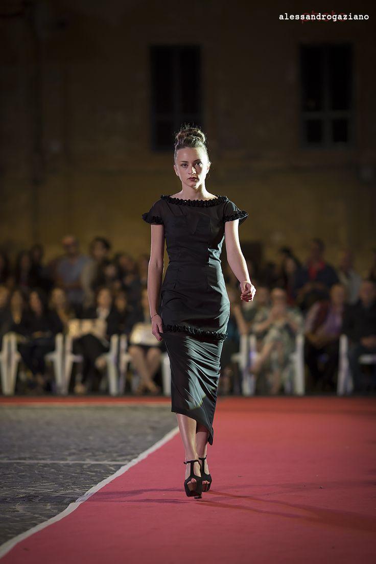 Nettuno 2014, Sfilata Gatti.   #blog #foto #alessandrogaziano #woman #sfilata #girl #fashion #abito #passerella #Moda
