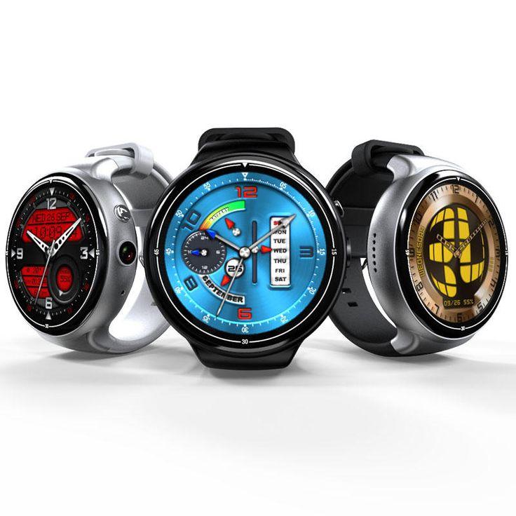 I4 AIR 2G+16G Camera WIFI GPS Sleep Heart Rate Monitor Fashion TPU Strap Smart Watch Phone at Banggood