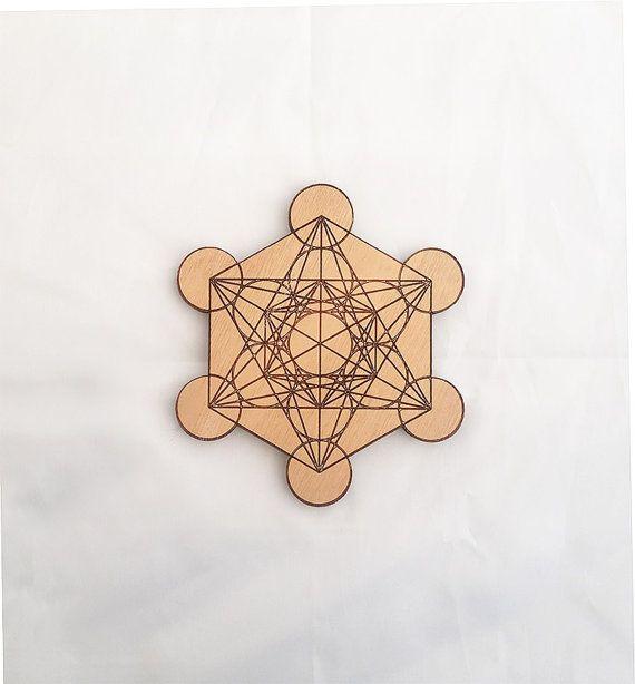 METATRON'S CUBE healing energizer � 14 cm
