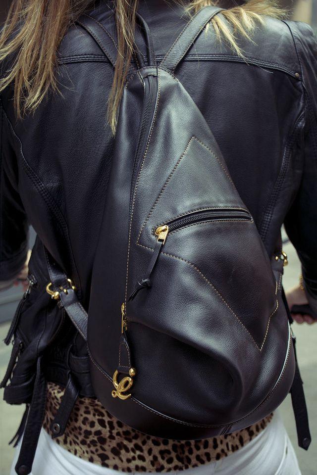 Leather Bag By Loewe