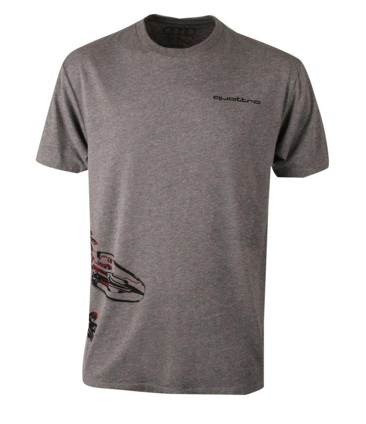 Audi. #ACM3002: quattro Gecko Wraparound T-Shirt