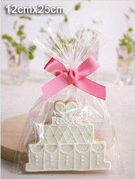 Transparent Cookies Bags  Cellophane Bag  Candy by pingosdoceu