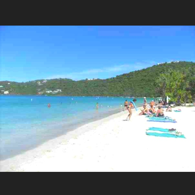 8th best beach in the world, St Thomas
