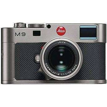 Leica M9 Titanium Rangefinder Digital Camera Body W/35mm F/1.4 Lens