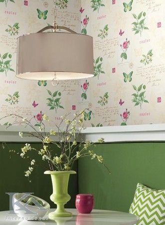 Green Vase. Wallpaper Spices. Wallpaper  butterfly.
