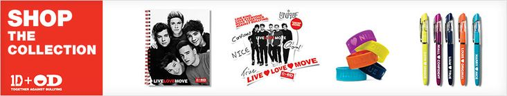 Win a bag of mystery items from One Direction and Office Depot