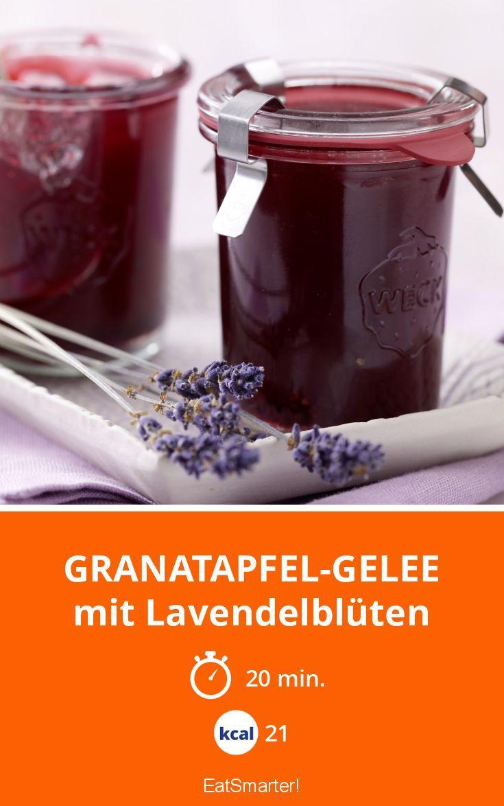 Granatapfel-Gelee