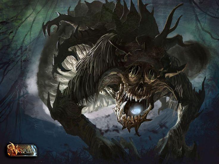 #nohalia #fireclaw #fantasy #dark #rpg #darkfantasy #roleplaygame #horror #monster #worm #art #digital #paintings #digitalpainting