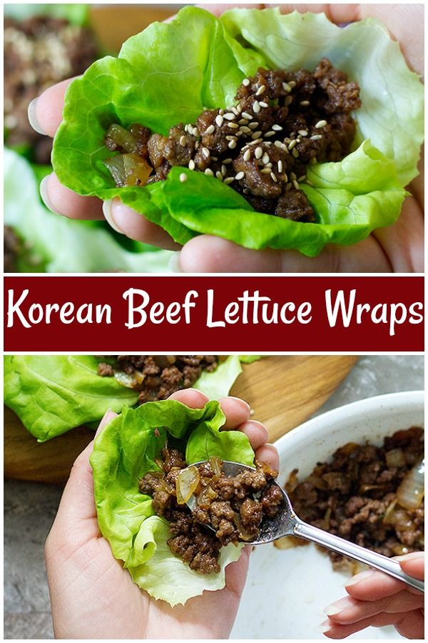 Ground Beef Lettuce Wraps Are A Perfect Recipe For Weeknights