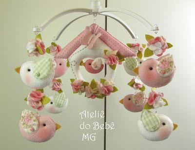 Ateliê do Bebê MG: Móbiles                                                                                                                                                      Mais