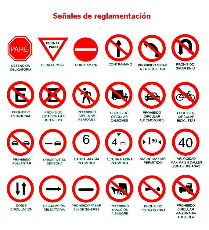 señales internacionales de los autopistas - Google Search