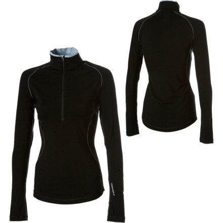 Icebreaker GT260 Express Zip Top - Long-Sleeve - Women's Black, L.    Buy New: $120.00  Deal by: AthleticClothingShop.com
