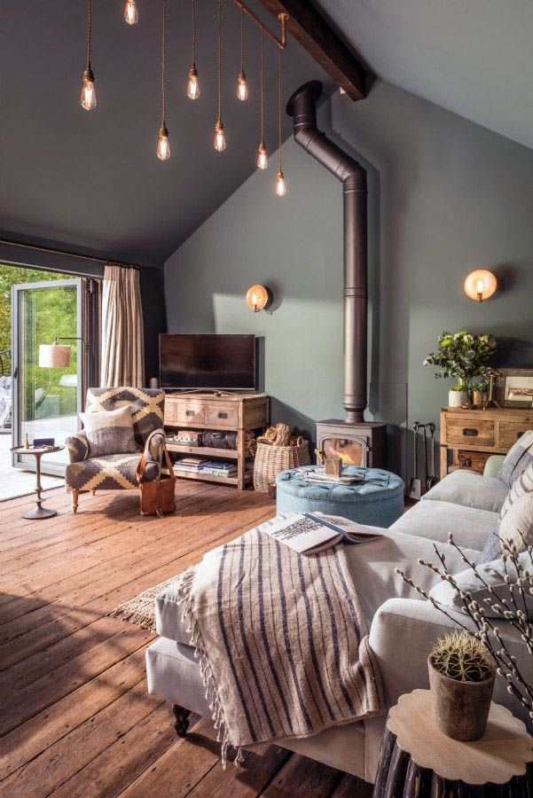 Extraordinary Rustic Living Room Decor