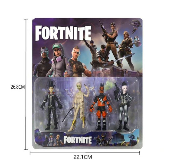 Fortnite Battle Royale Pvc Characters Figures Set 4pcs New In Package Fortnite Canada Game Fortnite Character Friends Funny