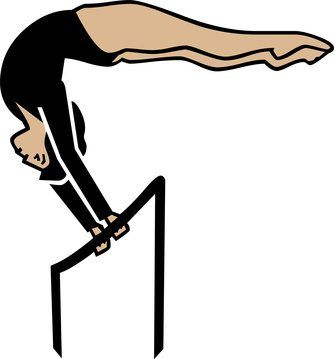 Uneven parallel bars, or uneven bars, are designed for female gymnasts. They consist of two horizontal bars resting on supports of different heights. They are vital for a gymnast's training regimen, but also provide an effective workout station for performing ab exercises, tricep dips, handstands and many other exercises to build strength and...