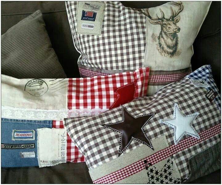 Zelf Kussen Maken : Zelfs kussens maken van bijv je oude kleding kussens maken met