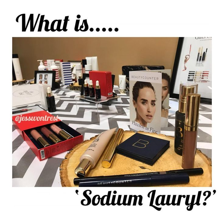 What is Sodium Lauryl? (SLS) A synthetic detergent and surfactant. Surfactant meaning it makes bubbles providing the illusion that your being thoroughly cleaned . . .  Where is Sodium Lauryl found ? Soap shampoo makeup toothpaste ... HOWEVER.. what its ALSO used for is CAR WASH SOAPS ENGINE DEGREASERS and FLOOR CLEANERS..... (wtf is it doing in my shampoo?!) . . .  Health Concerns ? Some household soaps have a concentration measurement as high as 30% which causes skin irritation linked to…