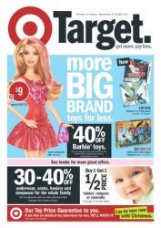 Target Toy Sale Catalogue: More Big Brand Toys For Less - Up To 40% Off!