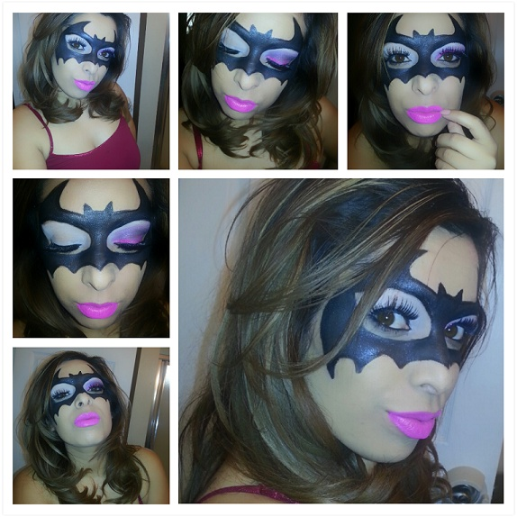 Best 25+ Batgirl Makeup Ideas On Pinterest | Gesicht Schminken Batman Batwoman Halloween And ...