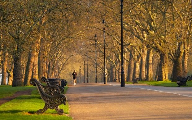 Hyde Park,London. My place to run every morning when I was in London.