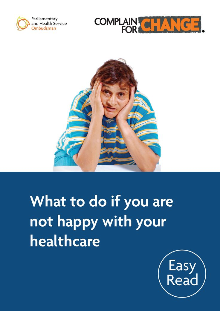 This Easy Read leaflet explains what to do if you want to complain about the service you have received from a doctor, hospital, dentist or optician in the NHS in England.
