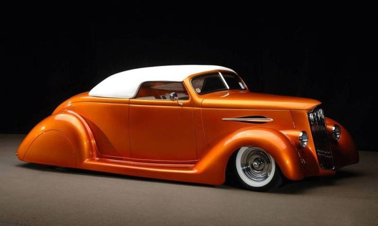 Another View! Custom 1936 Ford Convertible Street Rod~Words cannot describe... <3