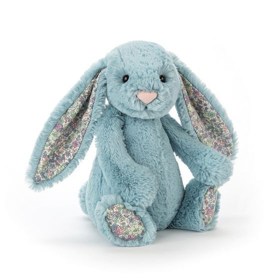 Jellycat Bunny - Blossom Aqua - Medium