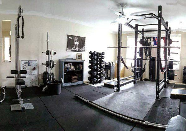 Top 40 Best Home Gym Floor Ideas Fitness Room Flooring Designs Gym Room At Home Home Gym Flooring No Equipment Workout