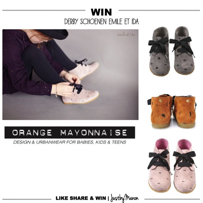 Win | via Orangemayonnaise | Emile et Ida Shoes | just by Manon blog