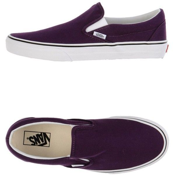 Vans Sneakers ($102) ❤ liked on Polyvore featuring men's fashion, men's shoes, men's sneakers, dark purple and vans mens shoes - mens dress shoes sale, mens shoes & boots, cheap mens shoes online
