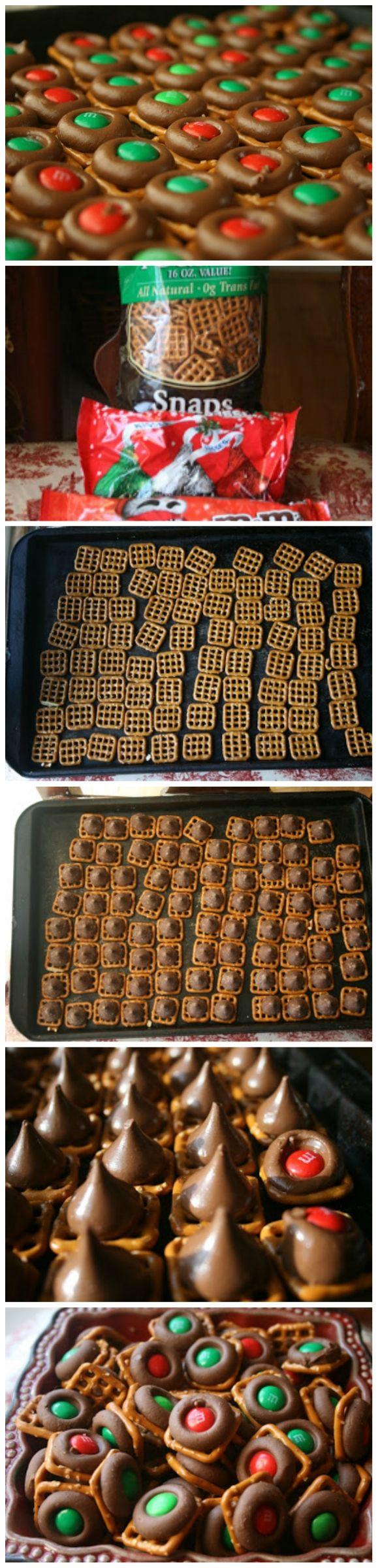 Easy Holiday Baking: Chocolate Pretzel Bites