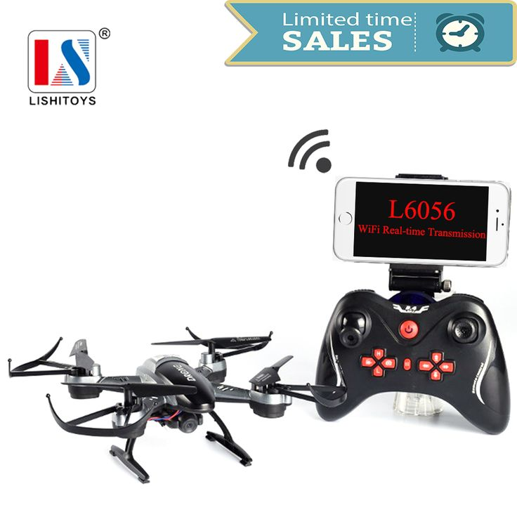 ==> [Free Shipping] Buy Best Lishitoys L6056 RC Drone Quadcopter with Wifi FPV HD Camera 2.0MP 2.4G Remote Control Airplanes RTF Toys for aduilt/kids Online with LOWEST Price | 32794396863