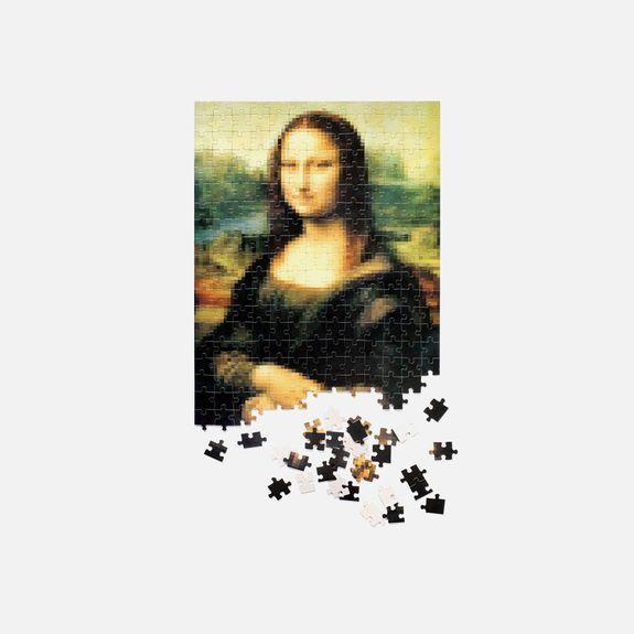Art.Lebedev Studio - Puzzlus Pixelus – Mona Lisa Puzzle
