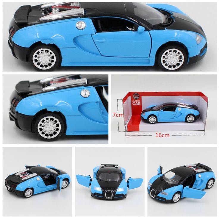2016 Free shipping 1pcs1: 36 music back to power car model alloy Happy happy birthday gift children's toys toy car sports car #>=#>=#>=#>=#> Click on the pin to check out discount price, color, size, shipping, etc. Save and like it!