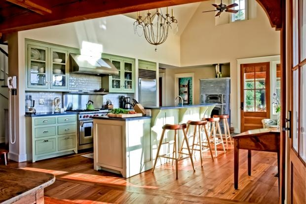 An Eco-Fabulous Chef's Kitchen