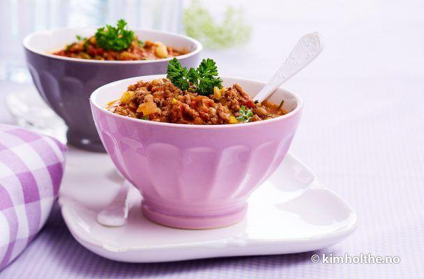 Linsegryte med kjøttdeig | Husmorlykke