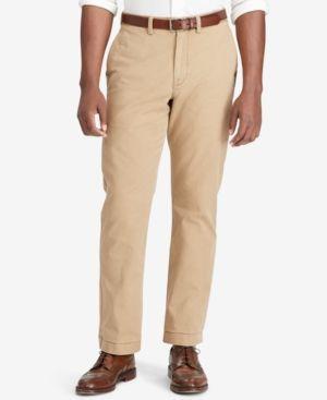 Polo Ralph Lauren Men's Big & Tall Classic-Fit Cotton Chinos - Granary Tan 42x30
