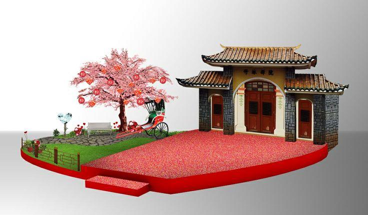 Stage Chinese, Valentine at Margo City