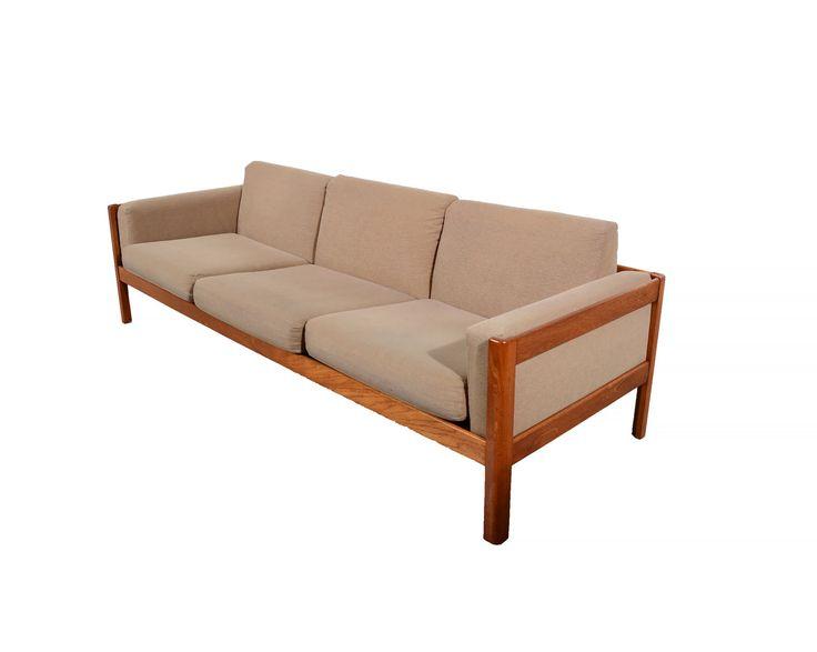 Teak Sofa Danish Modern by HearthsideHome on Etsy https://www.etsy.com/listing/255335154/teak-sofa-danish-modern
