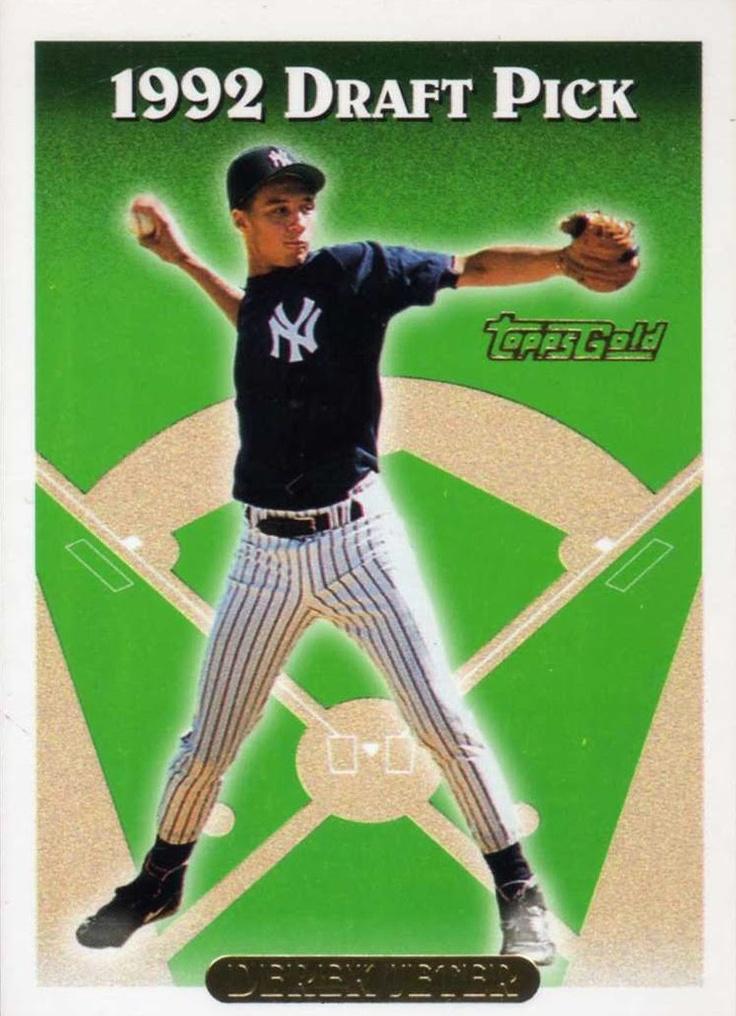 Derek Jeter Rookie Card Topps (1993)