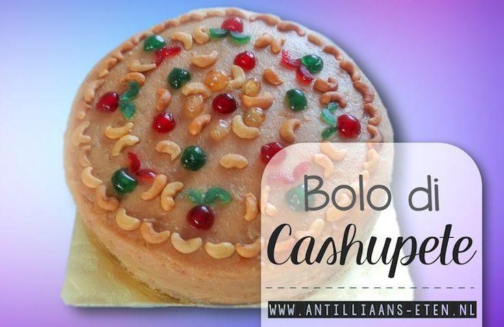 De bolo di cashupete is dé feesttaart bij uitstek! De zware cashewcrème is heel decadent en heeft echt een authentiek Antilliaanse smaak. De basis van deze taart is eenbolo di manteka. (klik voor...