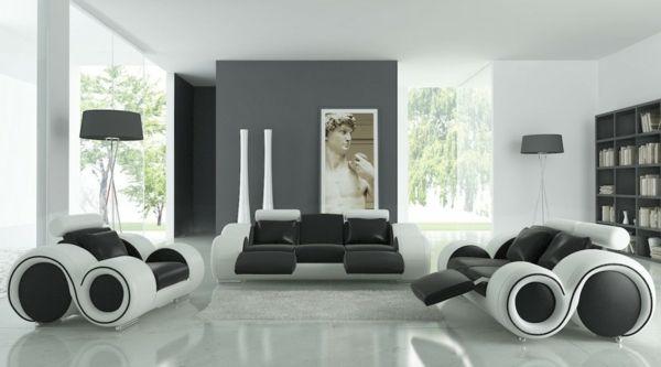 Wohnzimmermöbel modern weiß  Die besten 25+ Wohnzimmermöbel modern Ideen auf Pinterest ...