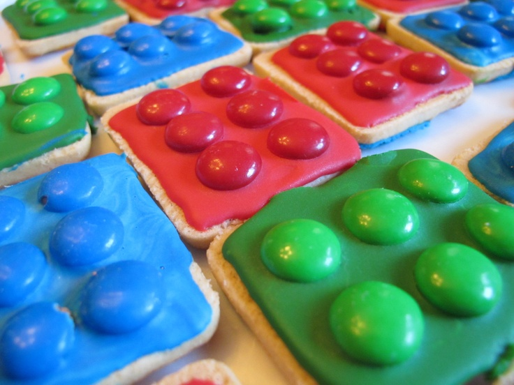 Lego cookies for Ethan's party?
