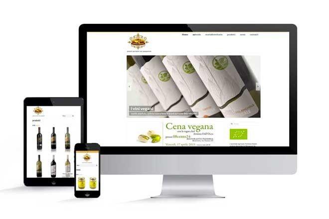 realizzazione sito web Fontana Realestudio grafico lagartixa design