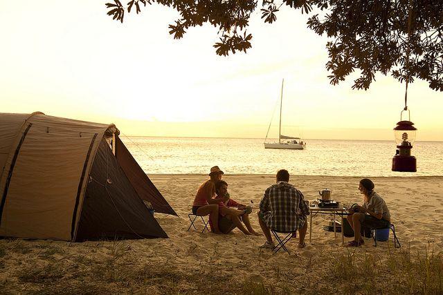 Camping Spot Ideas | Moreton Island #Brisbane