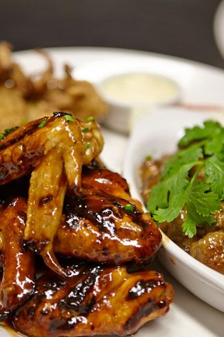 Tasty BBQ chicken wings - Hurricane's Grill Bondi Beach Steakhouse