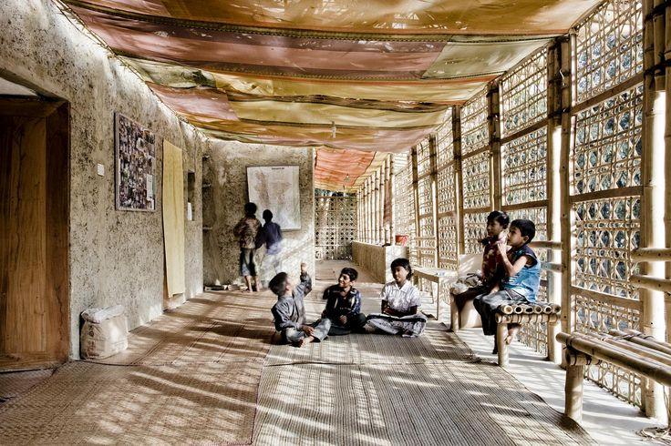 METI – Handmade School 2004–06 Rudrapur, Bangladesh Anna Heringer and Eike Roswag