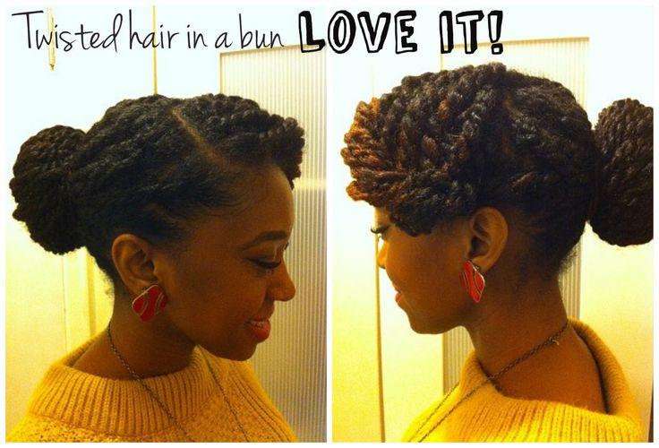 Sooooo tryin this with my Marley/Havana Twists!!!!