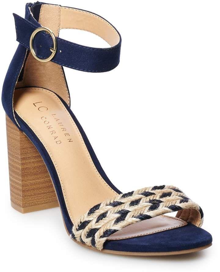 LC Lauren Conrad Admirer Womens High Heel Sandals in 2020