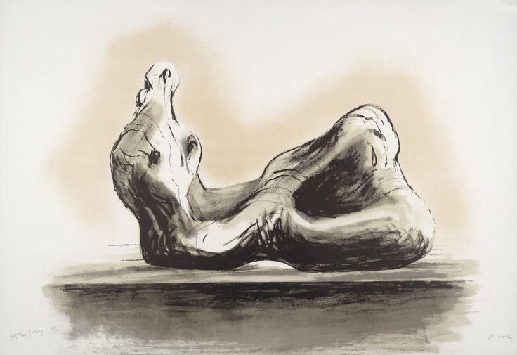 'Stone Reclining Figure II', Henry Moore OM, CH, 1978 | Tate